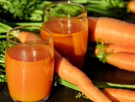 Carrot Juice to Get Rid of Phlegm without coughing it up